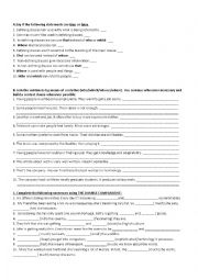 English Worksheet: Relative pronouns + double comparative
