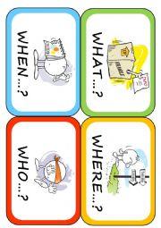 English Worksheet: Wh- words (2/3)