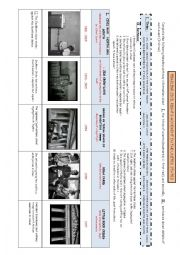 Timeline about civil rights movement in the USA teacher worksheet