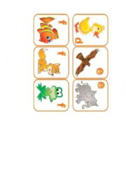 English Worksheet: animals flashcards. part 4
