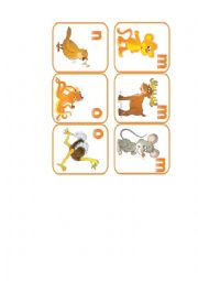 English Worksheet: animals flashcards. part 8