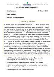 English Worksheet: IELTS