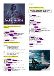 KATY PERRY ´DARK HORSE´