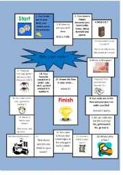 English Worksheet: Tidy your room!