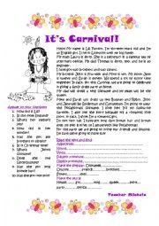 It´s Carnival!