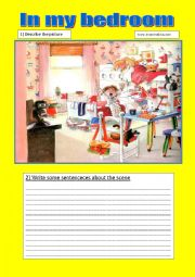 English Worksheet: speaking and writing activities