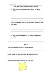 Love Language Video Question Sheet