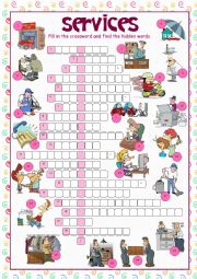 Services (Crossword Puzzle)