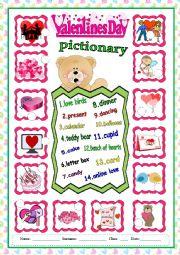 Happy Valentine´s pictionary