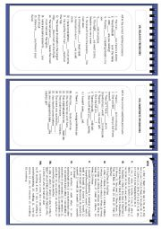 English Worksheet: Full test on pronouns .Part 3 (relative, indefinite,) and keys