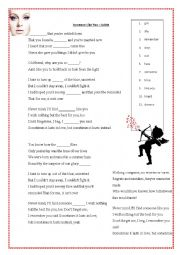 English Worksheet: Someone Like You � Adele