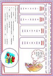English Worksheet: PERSONAL - POSSESSIVE PRONOUNS AND POSSESSIVE ADJECTIVES