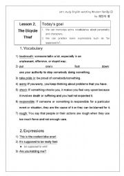 English Worksheet: Modern Family worksheet (1X2)