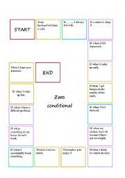 Zero conditional boardgame