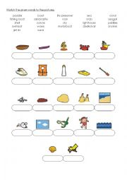 English Worksheet: Vocab - Seaside