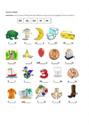 Vowel Digraphs oa,ee,oi,oy,oo