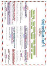 English worksheet: conjuctions Part 1