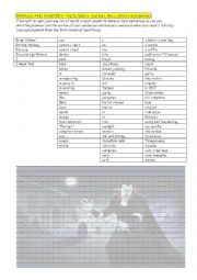 English Worksheet: DRACULA AND VAMPIRES � Facts, habits, routines, likes, dislikes and opinions
