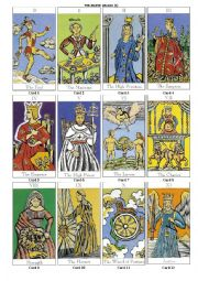 Reading Tarot Cards PART 3 of 6