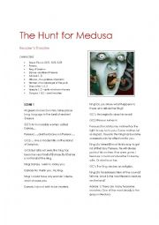 English Worksheet: Greek Myths: A Medusa Reader�s Theatre Script