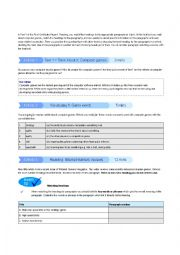 English Worksheet: FCE PRACTICE PAPER 1 READING