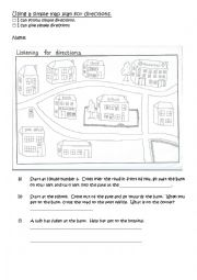 Using a map plan for directions