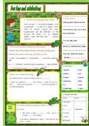 English Worksheet: Free time and celebrations