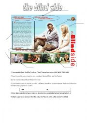the blind side DVD cover