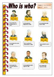Who is who?  (Inventors)