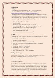 English Worksheet: New Year�s resolutions
