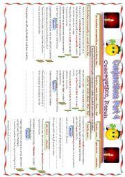 English worksheet: Conjunction Part 4