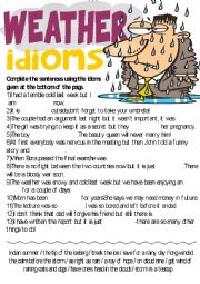 Idiom exercise worksheets