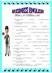 English Worksheet: BUSINESS ENGLISH 2 - Either..or / Neither..nor