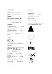 It´s my life Listening worksheet