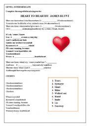 Heart by heart James Blunt