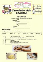 CHOCOLATE CHIPS COOKIES (KEY)