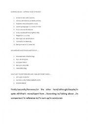 English Worksheet: Burning ISSUES