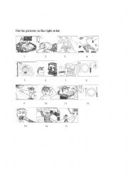 English Worksheet: day schedule