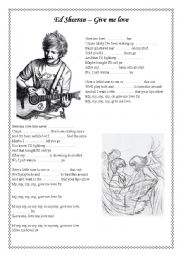 Ed Sheeran - Give me love - SONG from Vampire Diaries