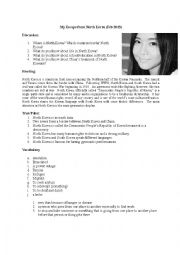 English Worksheet: My Escape from North Korea (Ted Talk)