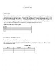 English Worksheet: Dr Jekyll and Mr. Hyde. Pre-reading activity