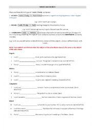 English Worksheet: I wish-If only