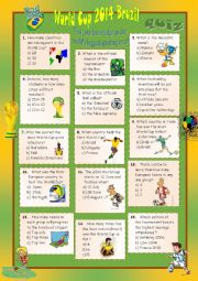 World Cup 2014 Brazil quiz