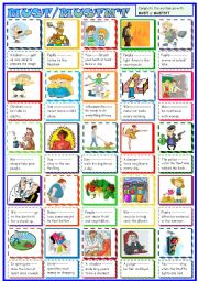 English Worksheet: Must/mustn´t