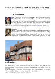 Back to the Past: what was it like to live in Tudor times?