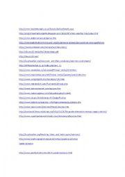 English Worksheet: Teaching ideas