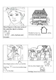 Mary Poppins Mini Book-A Perfect Tea Party-ESL