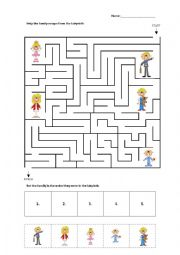 Family Labyrinth (easy)