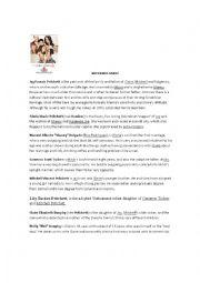 English Worksheet: Modern Family Worksheet Possessives