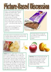 English Worksheet: Which is the best snack?